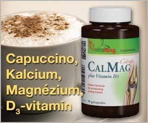 kalcium magnezium citrat koffein kávé