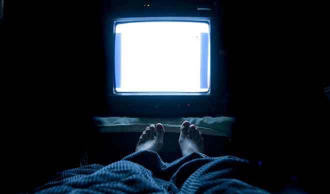 TV-a-haloszobaban